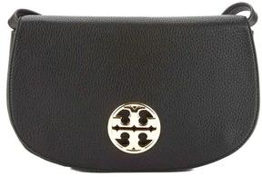 Tory Burch Black Leather Jamie Clutch - ONE COLOR - STYLE