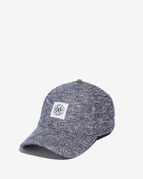 Express Marled Logo Knit Hat