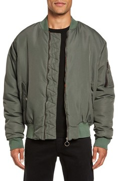 Hudson Men's Zeke Slim Fit Bomber Jacket