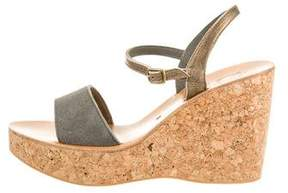 K Jacques St Tropez Wedges w/ Tags