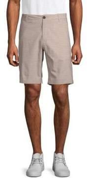 Ezekiel Vander Striped Cotton Shorts