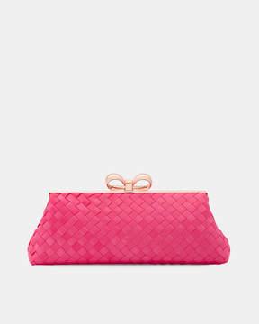 Ted Baker ALAINA Woven clutch bag