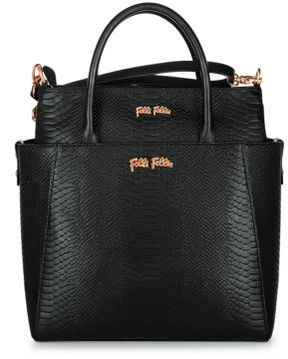 Folli Follie Reflections Embossed Tote Bag