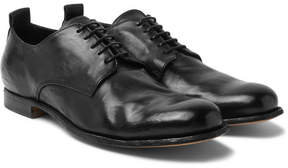 Officine Creative Mono Leather Derby Shoes
