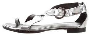 Proenza Schouler Metallic Leather Sandals