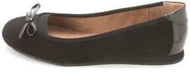 Style&Co. Style & Co. Womens Flat2 Suede Round Toe Ballet Flats.
