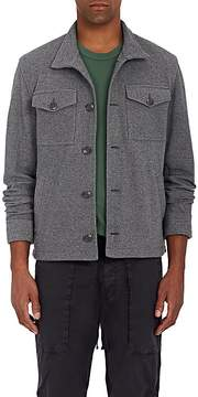 James Perse Men's Cotton Twill Trucker Jacket
