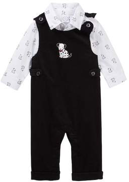 Little Me Sports Overall Set (Baby Boys)