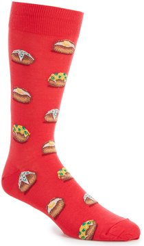 Hot Sox Baked Potato Crew Socks