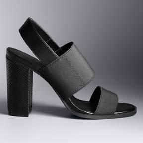 Vera Wang Simply Vera Embassy Women's High Heel Sandals