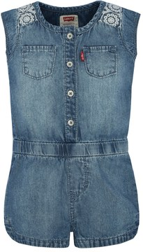 Levi's Baby Girl Denim Romper