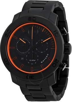 Movado Bold Chronograph Black Dial Titanium Men's Watch