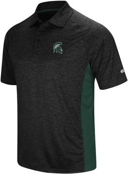 Colosseum Men's Michigan State Spartans Wedge Polo