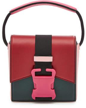 Christopher Kane Bonnie Colour Block Leather Shoulder Bag