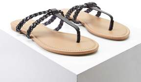 Forever 21 Braided Faux Leather Sandals