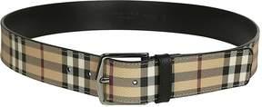 Burberry Heymarket Check Belt