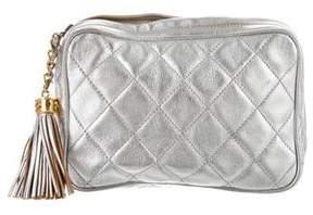 Chanel Embellished Tassel Clutch