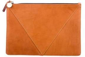 Clare Vivier Smooth Leather Clutch