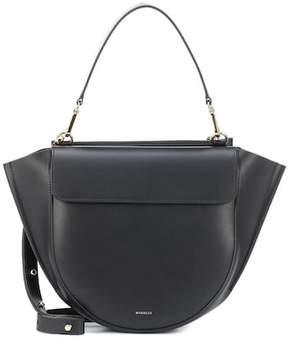 Hortensia Wandler Medium leather shoulder bag