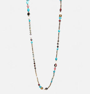 Avenue Multi Bead Rope Necklace