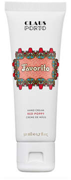 Claus Porto Favorito - Red Poppy Hand Cream, 50 mL