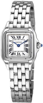 Cartier Panthere de Silver Dial Ladies Stainless Steel Watch