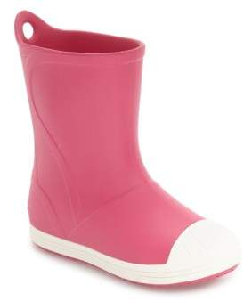 Crocs Toddler TM) Bump It Waterproof Rain Boot