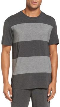 Daniel Buchler Stretch Stripe Crewneck T-Shirt