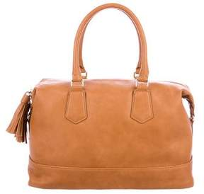 Neiman Marcus Grained Leather Satchel