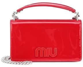 Miu Miu Patent leather shoulder bag