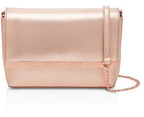 Ted Baker Melisaa Bow Embossed Leather Crossbody