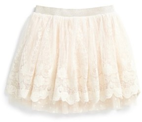 Truly Me Toddler Girl's Fancy Lace Skirt