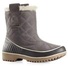 Sorel Tivoli Suede & Faux Fur Pull-On Boots