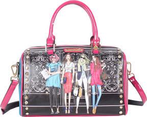 Nicole Lee Girls Want To Have Fun Print Boston Bag (Women's)