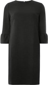 Dorothy Perkins **Tall Black Flute Sleeve Shift Dress