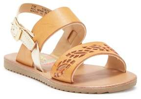 Rachel Lil Reanne Laser-Cut Sandal (Toddler & Little Kid)