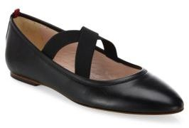 Sarah Jessica Parker Matinee Leather Flats