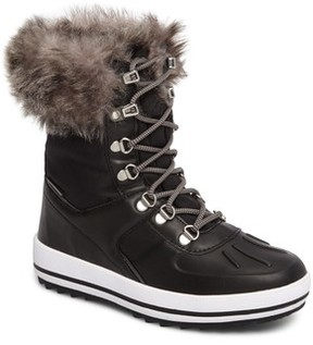 Cougar Women's Viper Waterproof Snow Boot With Faux Fur Trim