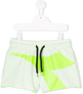 Diadora Junior logo print track shorts