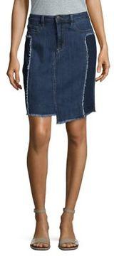 Buffalo David Bitton Savage Distressed Denim Skirt
