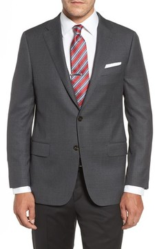 Hickey Freeman Men's Classic B Fit Wool Blazer