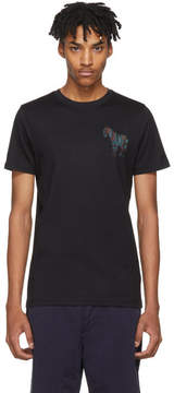 Paul Smith Black Mini Zebra Slim-Fit T-Shirt