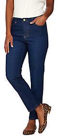 Isaac Mizrahi Live! TRUE DENIM PetiteAnkle Jeans