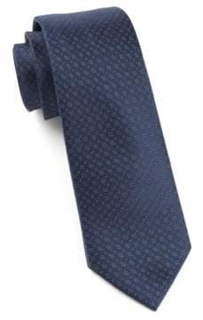The Tie Bar Speckled Woven Silk Tie