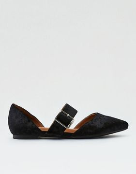 American Eagle Outfitters AE Velvet Flat