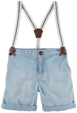 Osh Kosh Oshkosh Bgosh Toddler Boy Suspender Shorts