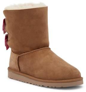 UGG Melani Dots Genuine Shearling Boot (Big Kid)