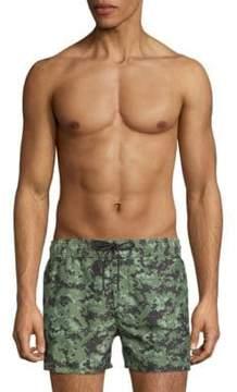 2xist Digital Camouflage Swim Shorts