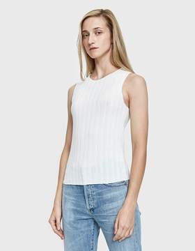 Which We Want Cher Wide Ribbed Tank