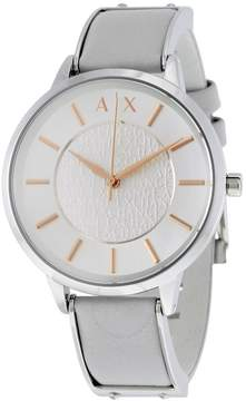 Armani Exchange Olivia Silver Dial Ladies Dress Watch